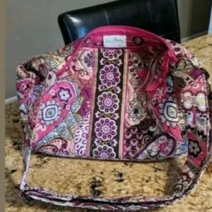 Vera Bradley Very Berry Paisley Shoulder/Handbag